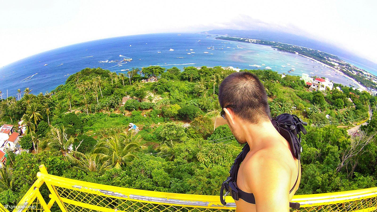 Ocean Tower on Mount Luho in Boracay, Philippines /// VINJABOND