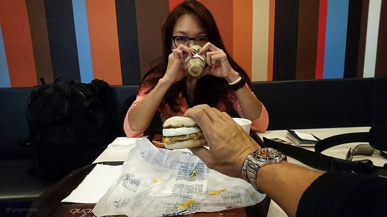 McDonald's at Penang Airport /// VINJABOND