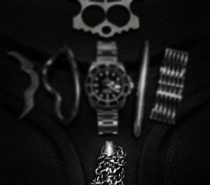 Black Tie Event EDC Kit: Stealth EDC Necklace /// Vinjabond