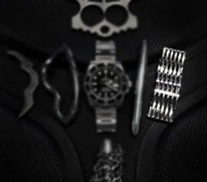 Black Tie Event EDC Kit: Platinum SERE Bracelet /// Vinjabond
