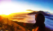 Mount Batur During Sunrise /// Vinjatek