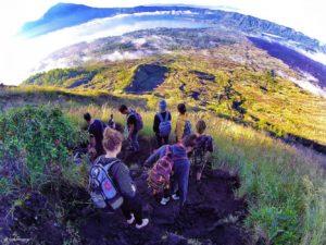 Mount Batur descent /// Vinjabond