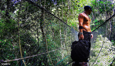 Covert Operator at  Penang Jungle Bridge Trekking /// Vinjatek Covert Operative