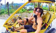 Riding a buggy around Boracay Island, Philippines /// Vinjatek