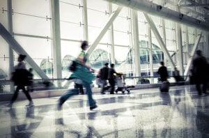 Running Through The Airport /// VINJABOND
