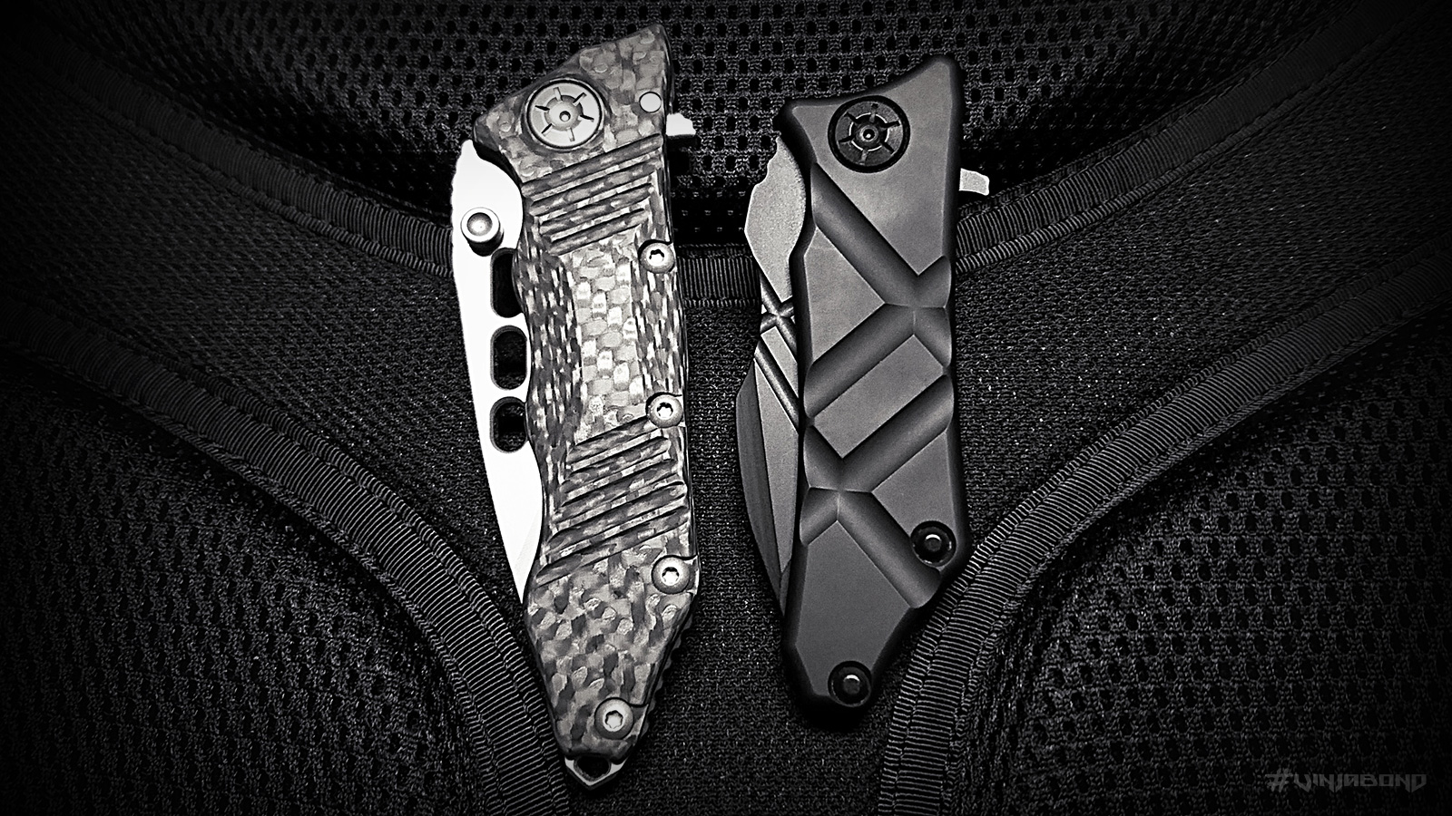 - Guardian Tactical Knives: Exilis vs. Helix Nano // Side VIew -