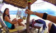 Puka Shell Beach on Boracay Island, Philippines /// Vinjatek