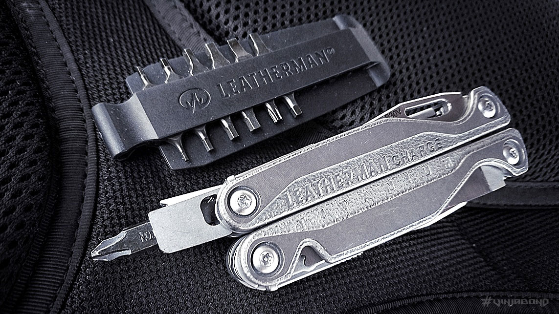 Leatherman Charge TTi with Bit Kit /// VINJABOND