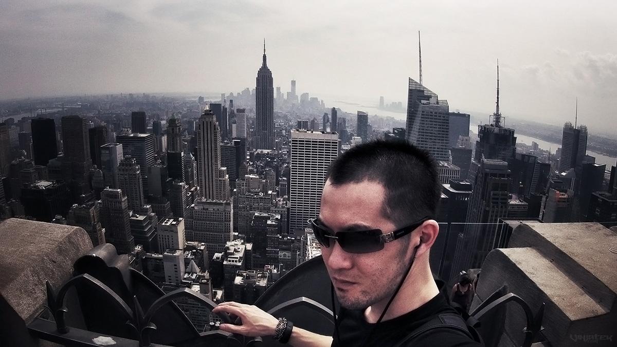 Top of The Rock, New York City /// Vinjatek
