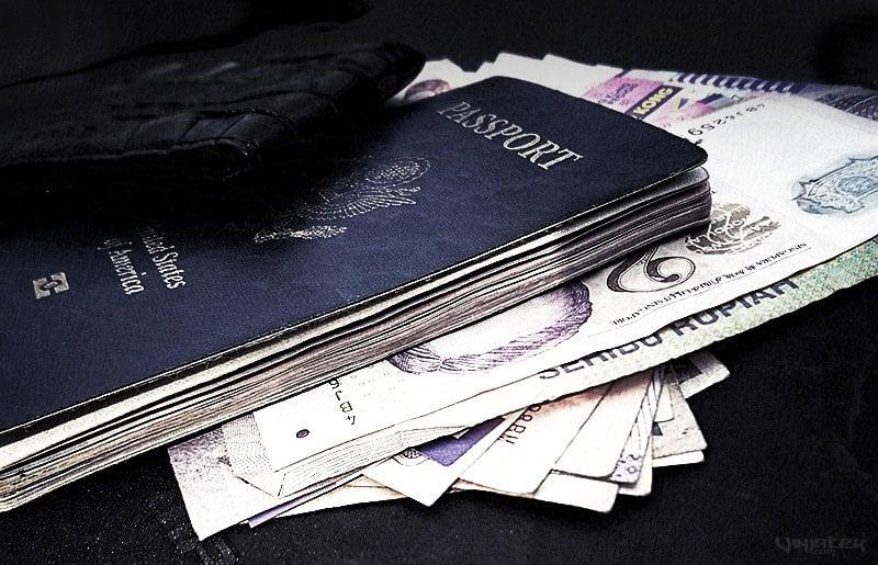 Passport and Money /// Vinjatek