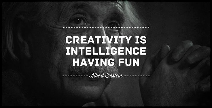 Creativity is intelligence having fun. - Albert Einstein /// MacGyvered