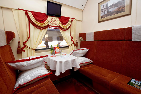 Trans-Siberian Railway First Class Seats /// VINJABOND