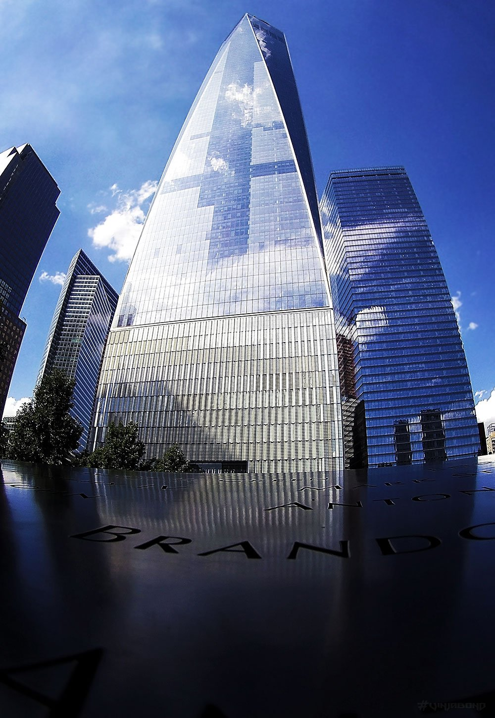 The Freedom Tower, One World Trade Center in New York /// VINJABOND