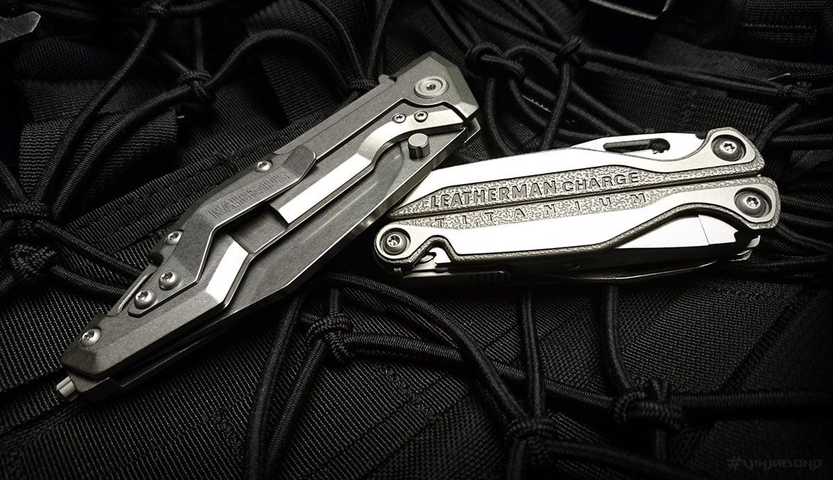 Raidops Centauro Knife w/ Leatherman Charge TTi /// VINJABOND