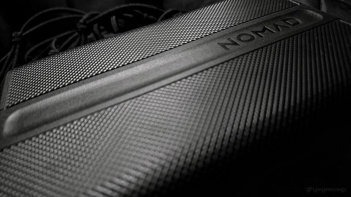 Nomad PowerPack Rubber Closeup /// Vinjabond