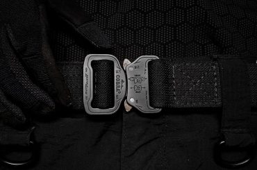 Black Scout Survival Concealment Belt /// Vinjatek