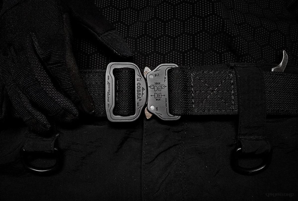 Black Scout Concealment Belt /// Vinjabond