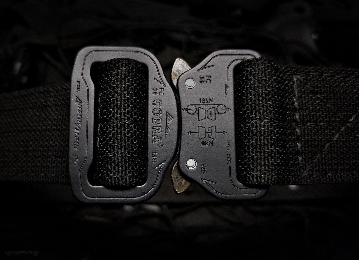 Black Scout Concealment Belt Austri-Alpin Buckle ///