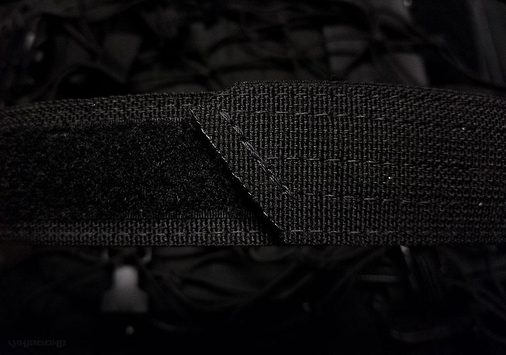 Black Scout Concealment Belt Premium Construction and Stitching ///