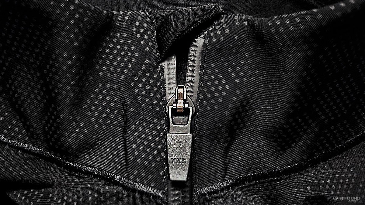 Zipper of The Condition Black Ceramic Baselayer ///