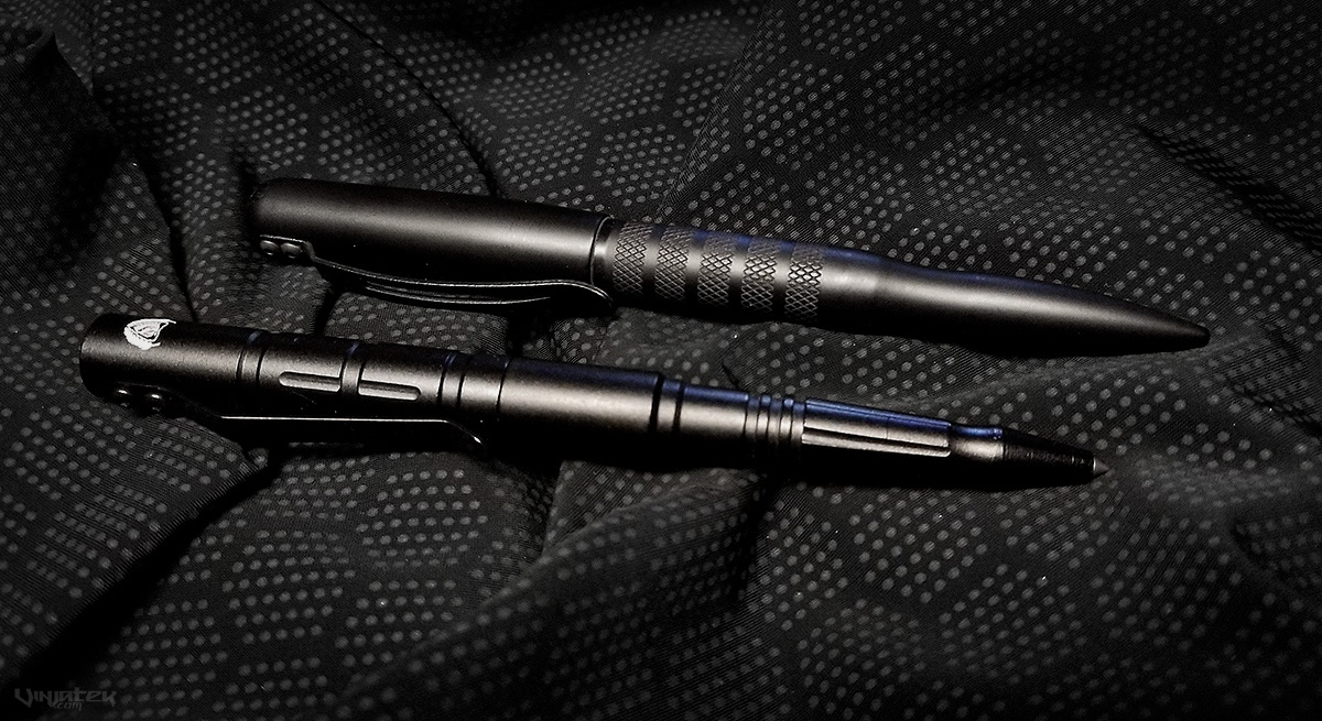 Tuff Writer Operator Series Midnight Black Tactical Pen