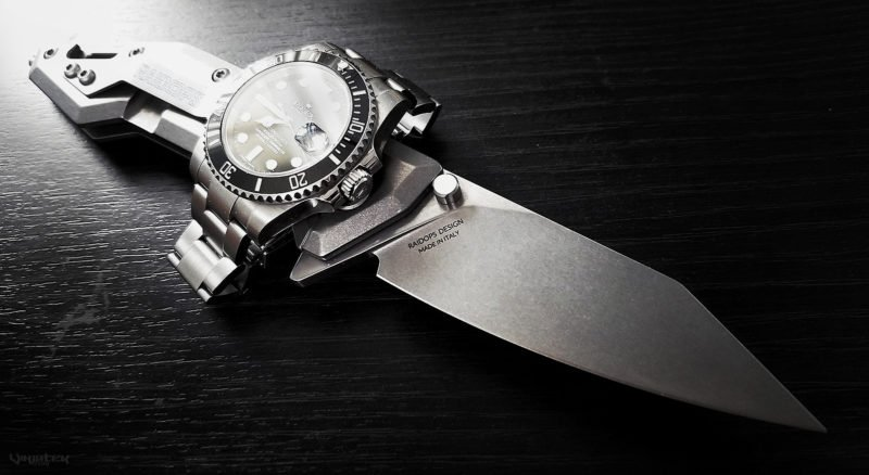 Rolex Submariner Watch and Raidops Centauro Knife /// Vinjatek