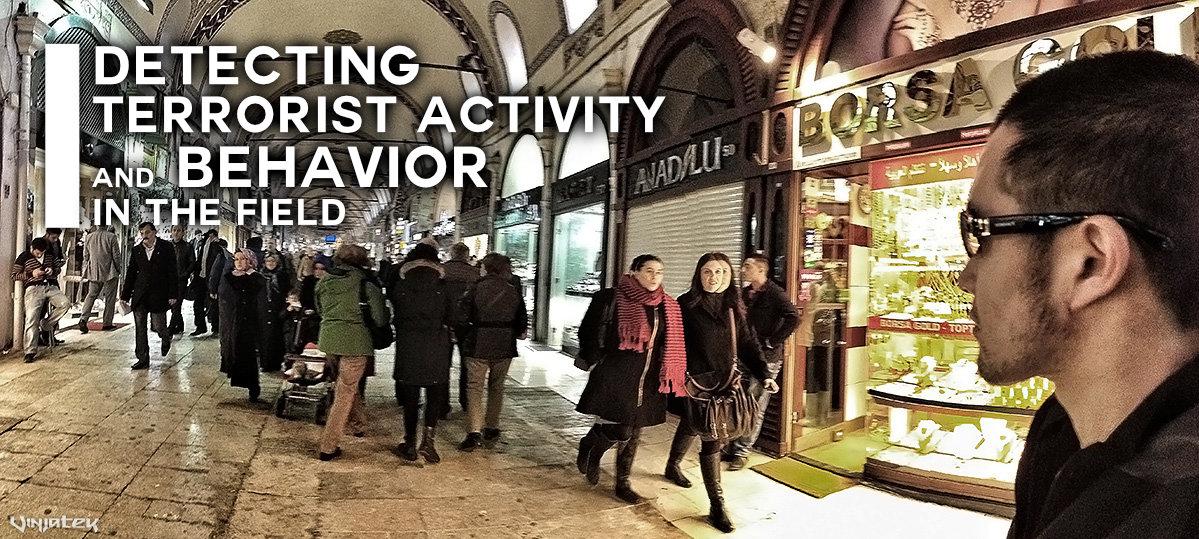 Detecting Terrorist Activity and Behavior in The Field /// Vinjatek Poster
