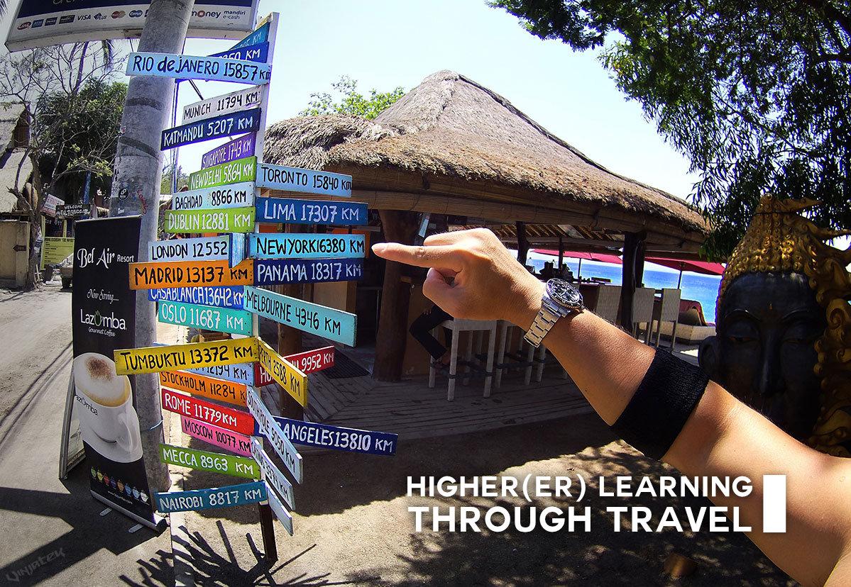 Higher(er) Learning Through Travel /// Vinjatek Poster