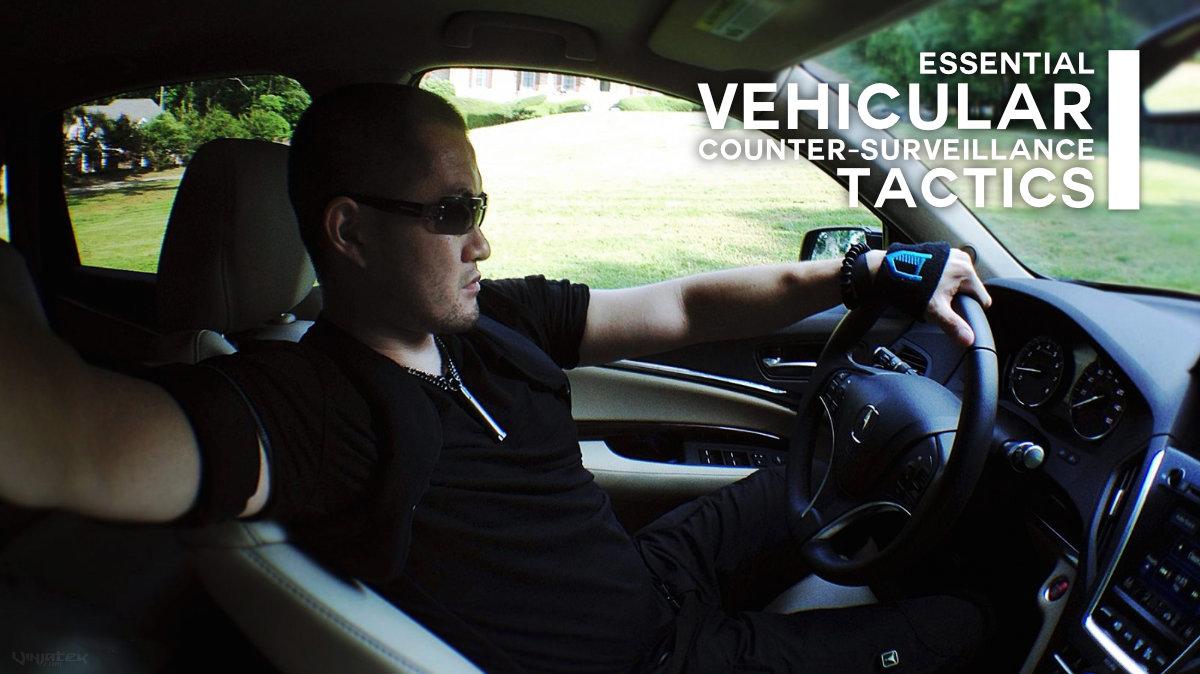 Essential Vehicular Counter-Surveillance Tactics /// Vinjatek Poster