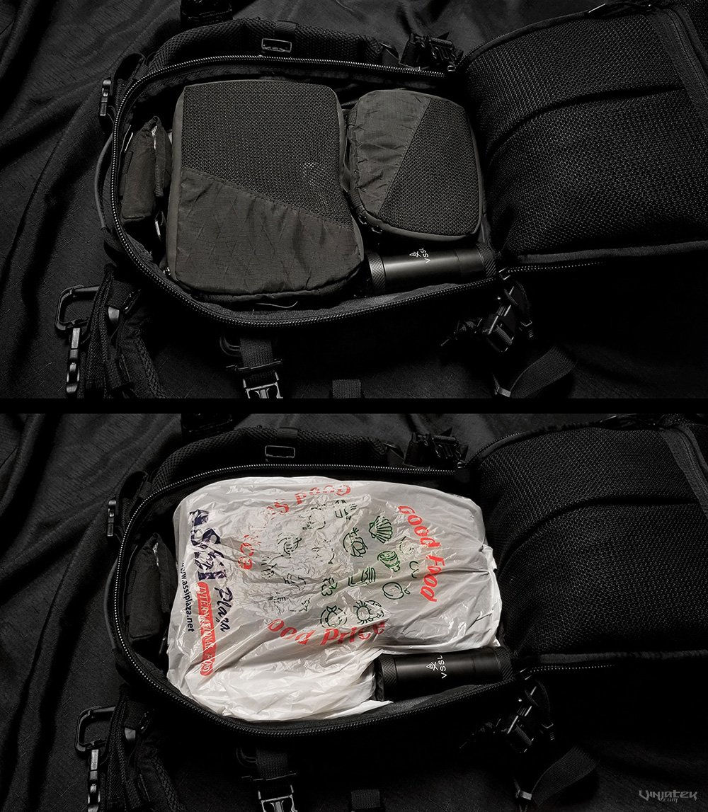How to Live Out of a Backpack: Improvised Waterproofing /// Vinjatek