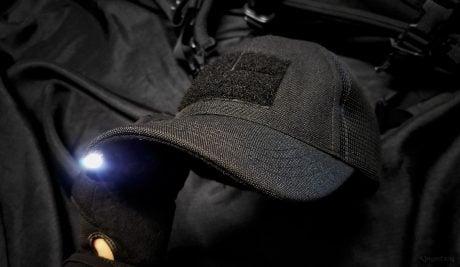 Goruck TAC Hat with Flashlight /// Vinjatek