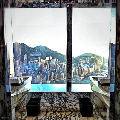 Ritz-Carlton Hotel Bathroom in Hong Hong /// Vinjatek