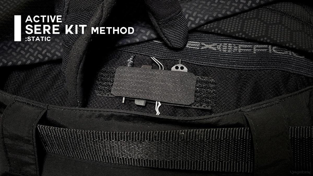 Active SERE Kit Method: Static /// Vinjatek Poster