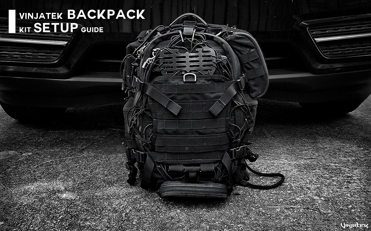 Vinjatek Backpack Kit Setup Guide /// Vinjatek Poster