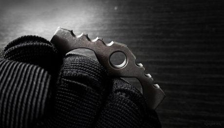 Titanium Brass Knuckles /// Vinjatek