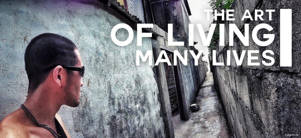 The Art of Living Many Lives /// Vinjatek Poster