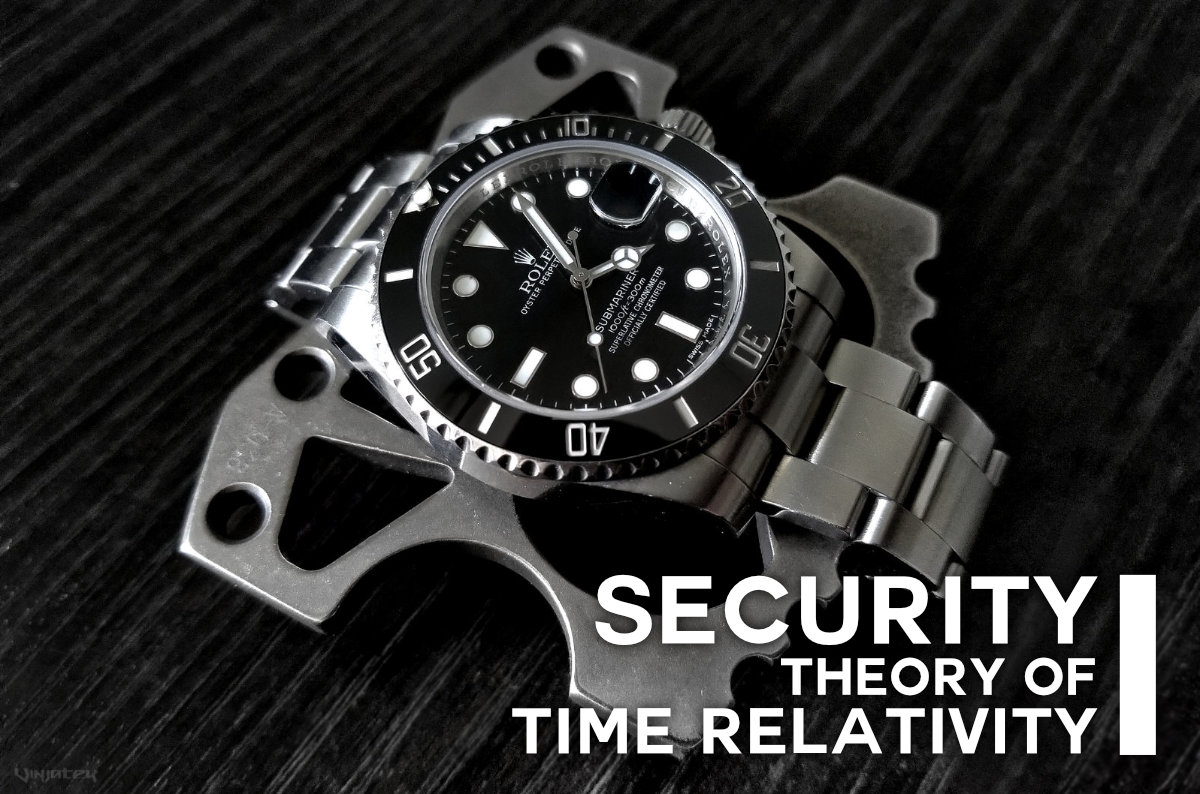 Security Theory of Time Relativity /// Vinjatek Poster