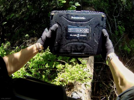 Covert Operation With a Panasonic Toughbook CF-19 in The Forest /// Vinjatek