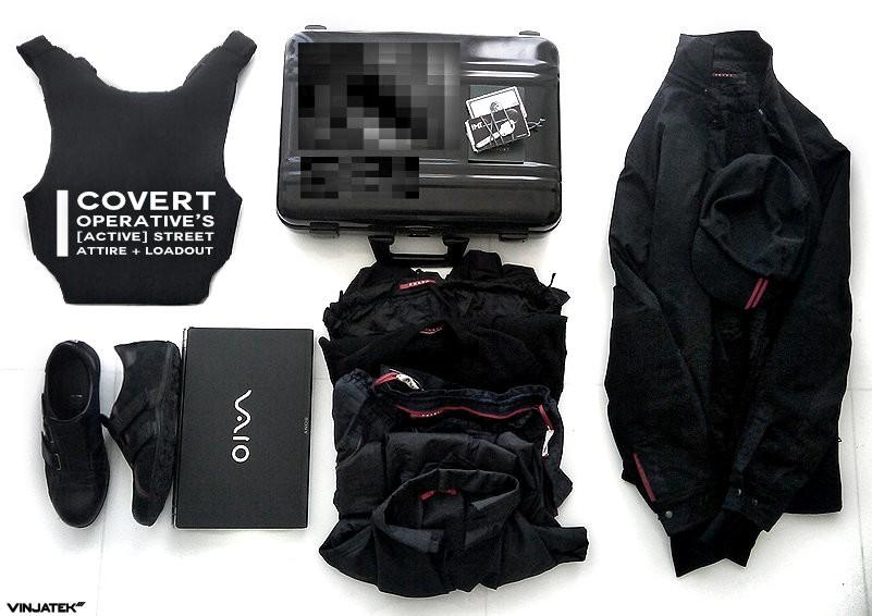Covert Operative's [Active] Street Attire + Loadout /// Vinjatek