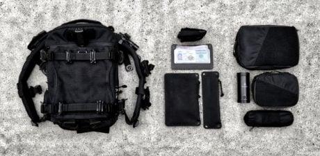 Vagabond Lifestyle Go-Bag Loadout Kit /// Vinjatek