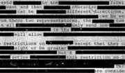 Redacted Secret Document /// Vinjatek