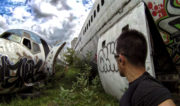 URBEX at The Airplane Graveyard in Bangkok, Thailand /// Vinjatek