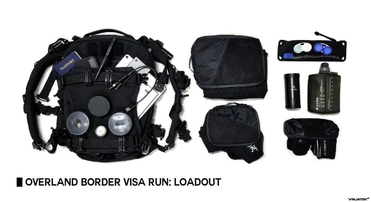 Overland Border Visa Run: Loadout /// Vinjatek Poster