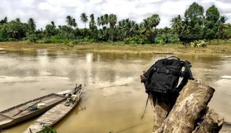 FAST Pack Scout at a Fishing Village in Battambang, Cambodia /// Vinjatek