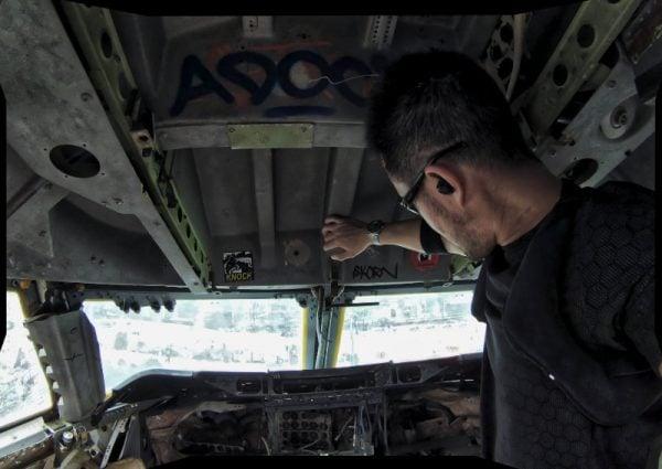 Covert Operative Training at an Airplane Graveyard /// Vinjatek