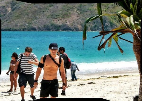 Kuta Beach Lombok Island Indonesia While Vagabonding /// Vinjatek