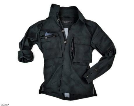 The Vollebak Planet Earth Shirt: Off-Black Edition /// Vinjatek
