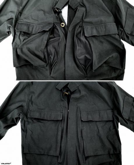 The Vollebak Planet Earth Shirt: Pocket Air Vents /// Vinjatek