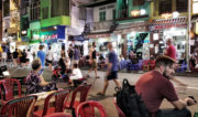 Bui Vien Street in Ho Chi Minh City, Vietnam /// Vinjatek