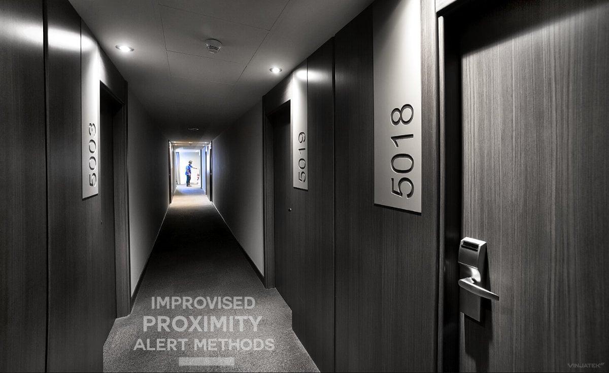 Improvised Proximity Alert Methods /// Vinjatek